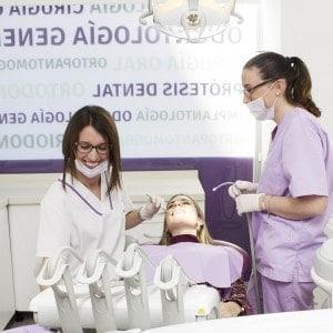 Paciente en en el dentista