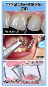 Tratamientos adicionales
